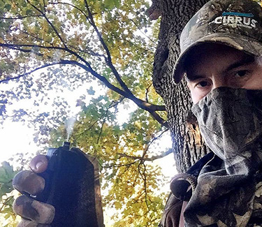 Cirrus Wind Indicator for Tree stand