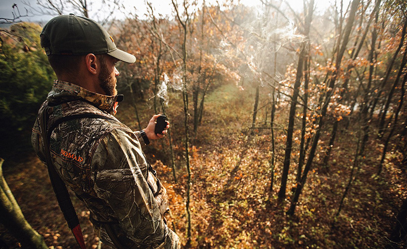 Deer Hunting Cirrus Wind Indicator